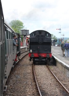 2014 Kent and East Sussex Railway 40th Anniversary Gala Northiam Ex-GWR 56xx 6619
