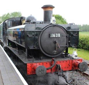 2014 Kent and East Sussex Railway 40th Anniversary Gala Bodiam 16xx Pannier Tank BR 1638