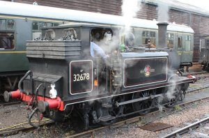 2014 Kent and East Sussex Railway 40th Anniversary Gala Tenterden Town A1X Terrier ex-LBSCR 32678