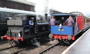 2014 Kent and East Sussex Railway 40th Anniversary Gala Tenterden Town A1X Terrier ex-LBSCR 32678 Sentinal 0-4-0 10 Gervase