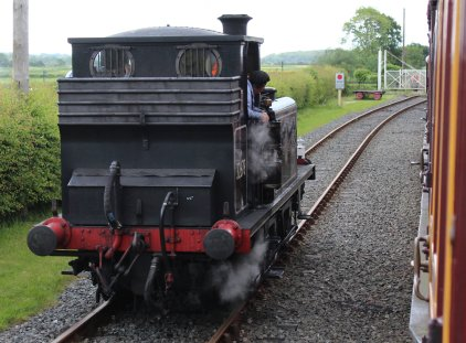 2014 Kent and East Sussex Railway 40th Anniversary Gala Bodiam A1X Terrier ex-LBSCR 32678
