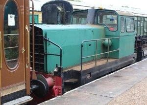 2014 Bluebell Railway - Horsted Keynes -  Sentinel Rolls-RoyceThomas Hill 4-w Diesel-Hydraulic loco 10241