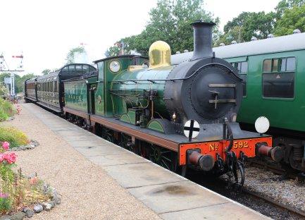 2014 Bluebell Railway - Horsted Keynes - SECR C class 592
