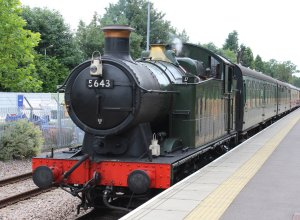 2014 Bluebell Railway - East Grinstead - Ex-GWR 56xx class - 5643