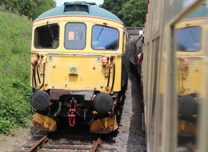 2014 Bluebell Railway - Horsted Keynes - BRCW Type 3 (later Class 33 1) 33103 Swordfish