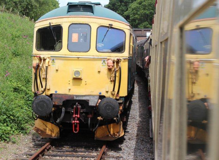 2014 Bluebell Railway - Horsted Keynes - BRCW Type 3 (later Class 33 1) 33103 Swordfish