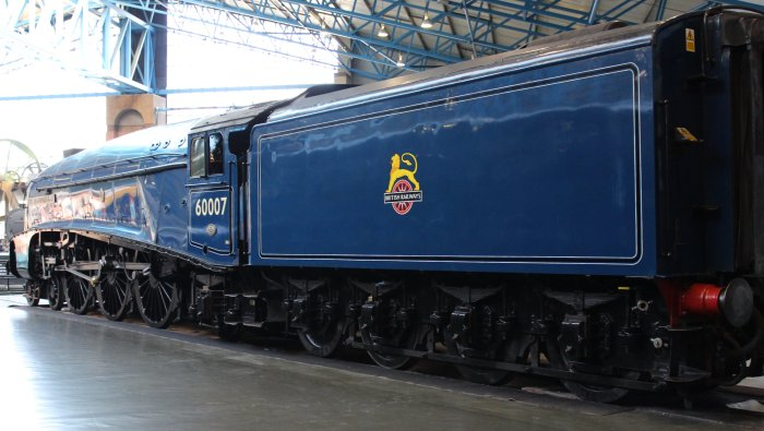 2013 National Railway Museum York - The Great Gathering - BR A4 60007 Sir Nigel Gresley
