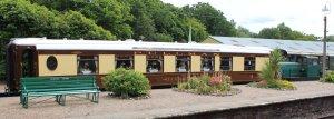 2014 Bluebell Railway - Horsted Keynes - Sentinel Rolls-RoyceThomas Hill 4-w Diesel-Hydraulic loco 10241 & Pullman Fingall