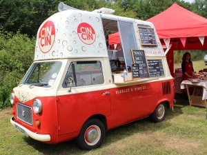 2014 Bluebell Railway - Horsted Keynes - Ice cream van - Sussex Food Festival