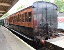 2014 Bluebell Railway - Horsted Keynes - LSWR 1520 Lavatory Brake 3rd