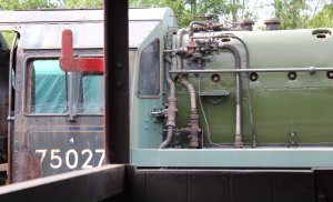 2014 Bluebell Railway - Horsted Keynes - BR Standard 4MT 4-6-0 75027