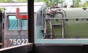 2014 Bluebell Railway - Horsted Keynes - BR Standard 4MT 4-6-0 75027