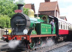 2014 Bluebell Railway - Sheffield Park - SECR H Class 263 Wealden Rambler