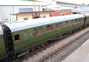 2014 Bluebell Railway - Sheffield Park - 1309 TO   Open Third (1935)