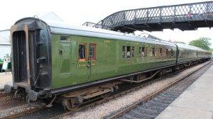 2014 Bluebell Railway - Sheffield Park -  6686 BCK  Corridor Composite Brake (1935