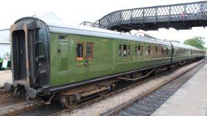 2014 Bluebell Railway - Sheffield Park -  6686 BCK  Corridor Composite Brake (1935
