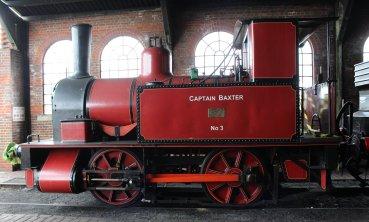 2014 Bluebell Railway - Sheffield Park - Dorking Greystone Lime Works No.3 Captain Baxter
