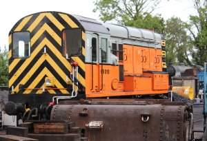 2014 Bluebell Railway - Sheffield Park - class 09 350HP diesel-electric shunter D4106 09018