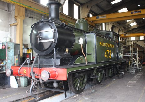 2014 Bluebell Railway - Sheffield Park - LBSCR Billinton Radial Tank E4 class B473