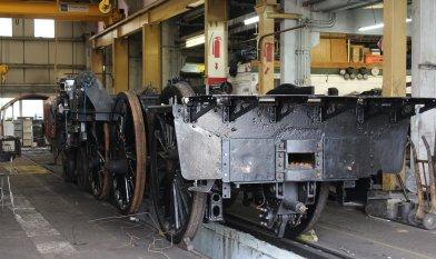 2014 Bluebell Railway - Sheffield Park - BR Standard 5MT - 73082 Camelot frames
