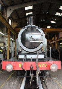 2014 Bluebell Railway - Sheffield Park - LBSCR Billinton Radial Tank E4 class B473