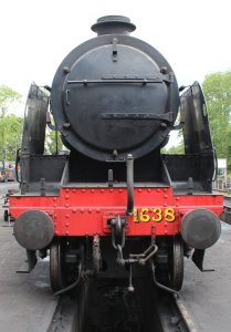 2014 Bluebell Railway - Sheffield Park - Southern Railway U-class 2-6-0 1638