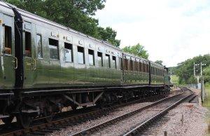 2014 Bluebell Railway - Sheffield Park - Southern Railway Maunsell Open Third No1336 SECRC Class 592