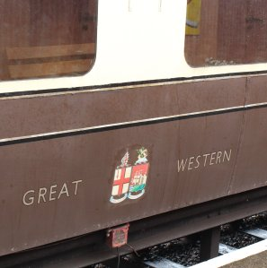 2014 South Devon Railway - Buckfastleigh - GWR Collett carriage