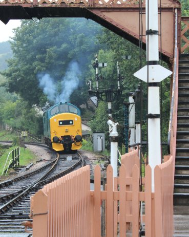 2014 South Devon Railway - Buckfastleigh - BR Class 37 D6975 6975 37275