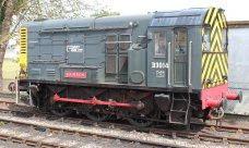 2014 Paignton and Dartmouth Steam Railway - Paignton - Class 08 Disel Shunter D3014