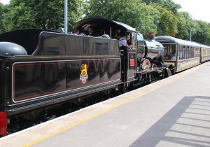 2014 Paignton and Dartmouth Steam Railway - Paignton - 7827 Lydham Manor