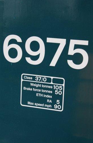 2014 South Devon Railway - Buckfastleigh - BR Class 37 D6975 6975 37275
