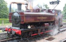 2014 South Devon Railway - Buckfastleigh - London Transport 57xx L.92 pannier tank
