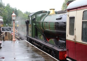2014 South Devon Railway - Buckfastleigh - GWR 2251 Collett Goods Class BR lined - 3205