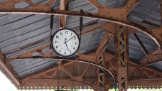 2014 Paignton and Dartmouth Steam Railway - Kingswear - GWR clock
