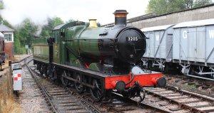 2014 South Devon Railway - Buckfastleigh - GWR 2251 Collett Goods Class BR lined - 3205