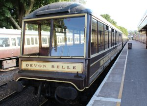 2014 Paignton and Dartmouth Steam Railway - Paignton - Pullman Devon Belle Observation Car