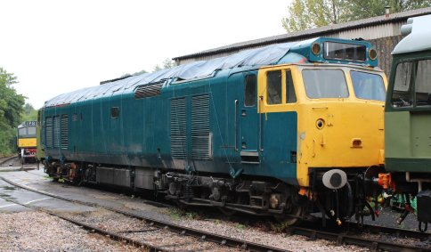 2014 South Devon Railway - Buckfastleigh - Class 50 D402