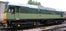 2014 South Devon Railway - Buckfastleigh - D7612 Class 25 Diesel