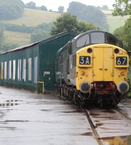 2014 South Devon Railway - Buckfastleigh - Class 37 D6737