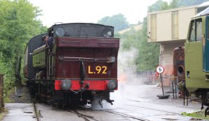 2014 South Devon Railway - Buckfastleigh - London Transport 57xx L.92 pannier tank