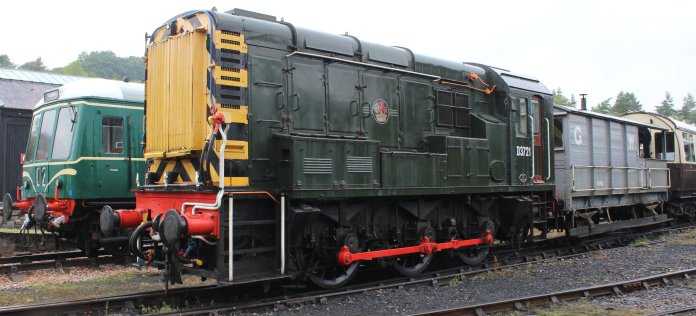 2014 South Devon Railway - Buckfastleigh - BR 0-6-0DE D3721 (09 010) class 09