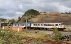 Dartmoor Railway 2014 - Meldon Viaduct (Class 4239 4-VOP Unit 3905)
