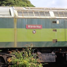 Dartmoor Railway 2014 - Meldon Viaduct (Class 477 No. 47701 Waverley nameplate)