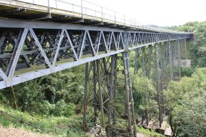Dartmoor Railway 2014 - Meldon Viaduct (Granite Way)