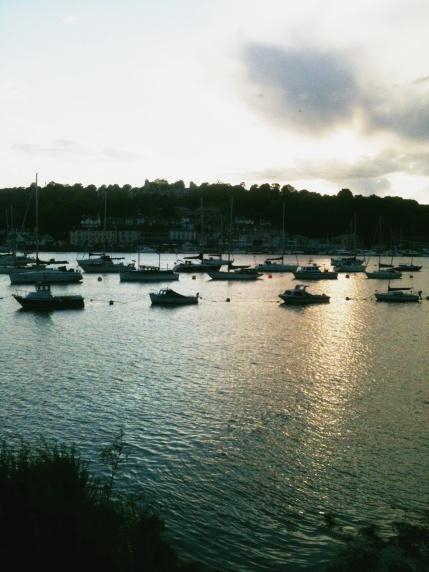 Sunset in Dartmouth