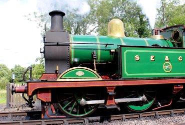 2014 Bluebell Railway - Sheffield Park - SECR H Class 263 Wealden Rambler