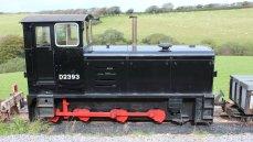 2014 Lynton and Barnstaple Railway - Woody Bay - 0-6-0DM 2393 Pilton