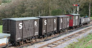 2014 Lynton and Barnstaple Railway - Woody Bay - SR wagons