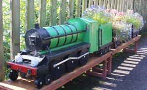 2014 West Somerset Railway Autumn Steam Gala - Stogumber - Flower planters